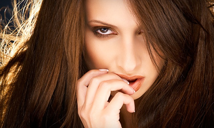 770 Salon Miami - Ojus: Cut and Conditioning or Cut, Condition, and Partial or Full Highlights at 770 Salon Miami in Aventura (Up to 73% Off)