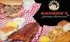 Bad Bob's Barbeque Restaurant - McAllen: $7 for $15 Worth of Ribs, Pulled Pork, and More at Bad Bob's Barbeque Restaurant