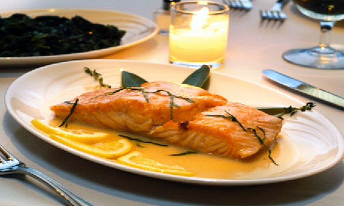 Destino - Midtown East: $60 for a Three-Course Southern Italian Dinner with Wine for Two at Destino (Up to $156 Value)