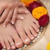 Up to 55% Off Mani-Pedi and Champagne in Hudson