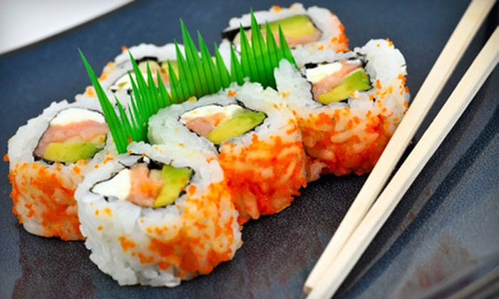 Sushiyaki - Vernon: Sushi and Japanese Cuisine at Sushiyaki in Buffalo Grove (Up to 58% Off). Two Options Available.
