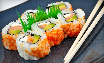 $40 Groupon for Sushi and Japanese Cuisine, and 4 Pieces of Jalapeno-Pepper Tuna (a $45.95 value) - Sushiyaki in Buffalo Grove