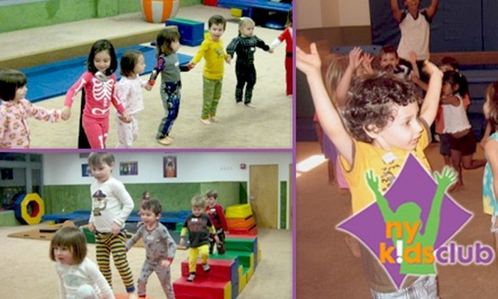 "New York Kids Club - Multiple Locations: Admission to ""Friday Fun for Everyone"" or ""Pajama Party"" Event from New York Kids Club. Choose from Three Options."