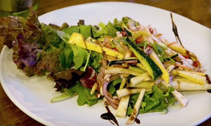 Green Room Bistro & Juice Bar - Carlisle: $15 for $30 Worth of Dinner at Green Room Bistro & Juice Bar (or $7 for $15 Worth of Lunch or Brunch)