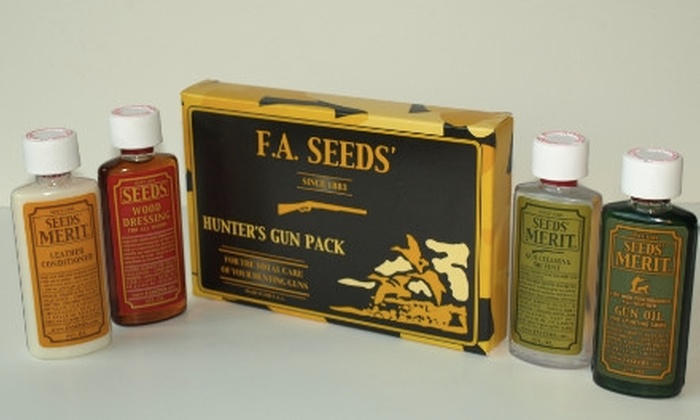 F.A. Seeds' Co.: $9 for a Sport-and-Leisure Care Kit from F.A. Seeds' Co.