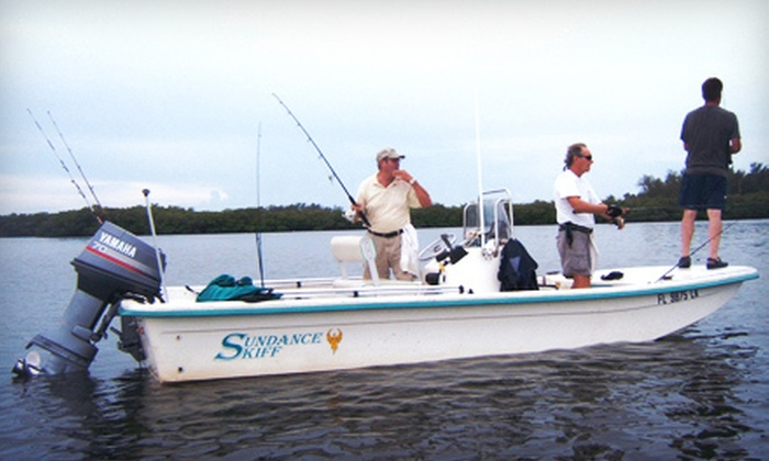 Fish Galore - Towns-end Shores: Four- or Eight-Hour Fishing Trip for Up to Five from Fish Galore in Osprey (Up to 52% Off)