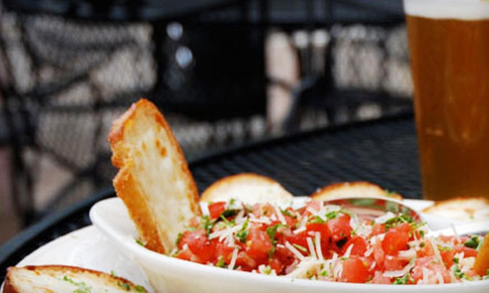 Zodiac Cafe and Lounge - Crown Point: $10 for $20 Worth of Mediterranean-Inspired Fare and Drinks at Zodiac Cafe and Lounge in Crown Point