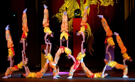 The Peking Acrobats at the Carolina Theatre on Sat., Mar. 10 at 2PM: Balcony 2 Seating - The Peking Acrobats in Durham