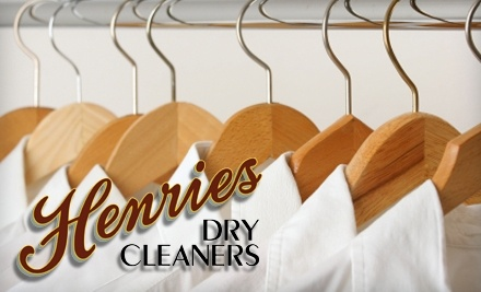 Henries Dry Cleaners: $40 Groupon for Dry Cleaning and Laundry - Henries Dry Cleaners in Salt Lake City