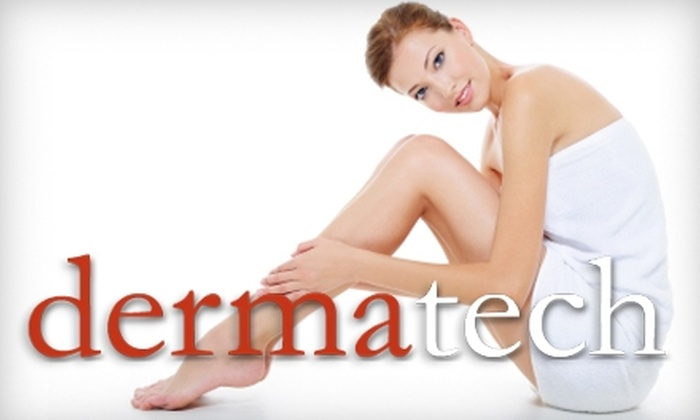 Dermatech - North Raleigh: $139 for Six Laser Hair-Removal Treatments at Dermatech
