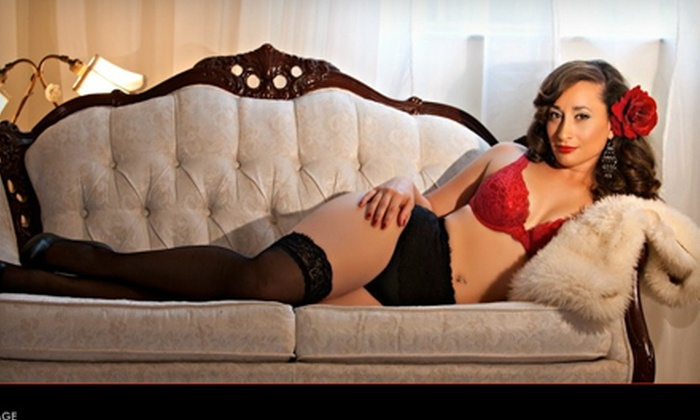 """Sugar and Spice Boudoir Photography - Poinciana Park: $79 for One-Hour Boudoir Photo Session and 8""""x10"""" Print at Sugar and Spice Boudoir Photography in Pembroke Pines ($215 Value)"""
