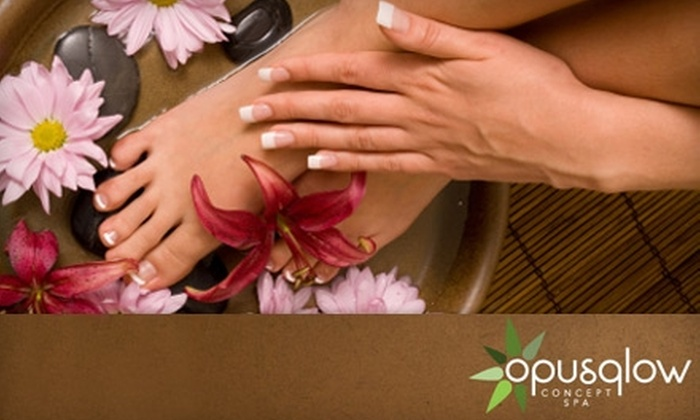 Opus Glow - Whitby: $40 for an Opus Manicure and Opus Pedicure at OpusGlow ($105.09 Value)