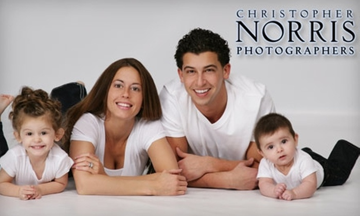 "Christopher Norris Photographers - North Royalton: $49 for a One-Hour Photo Shoot, Eight Wallet Pictures, and an 8""x10"" Print at Christopher Norris Photographers ($220 Value)"