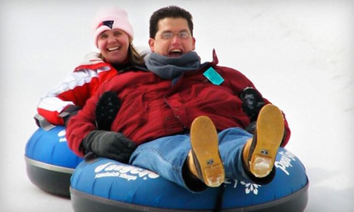 Nashoba Valley Ski Area - Westford: Snow-Tubing Outing on Monday through Thursday for Two, Four, or Six at Nashoba Valley Ski Area in Littleton (Half Off)