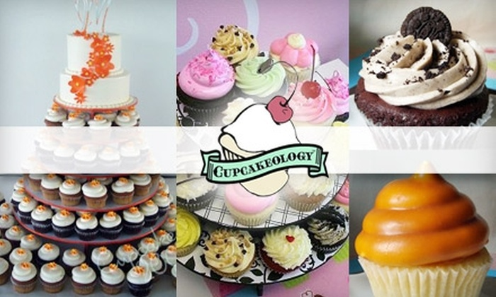 Cupcakeology - Altura Addition: $12 for One Dozen Cupcakes or One 6-Inch Cake from Cupcakeology ($25 Value)