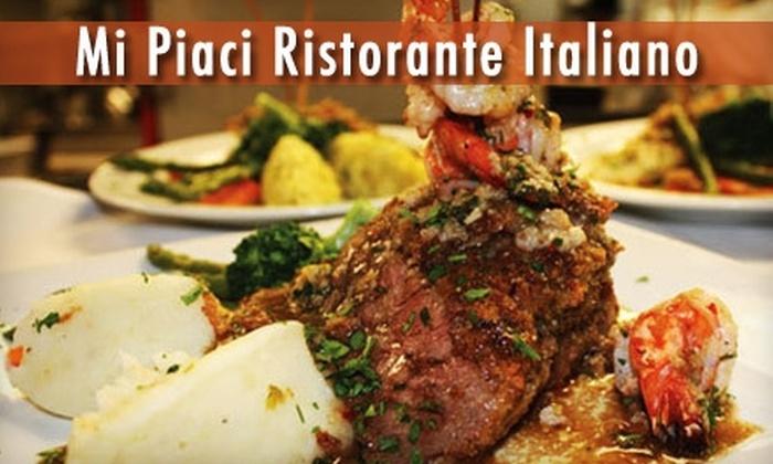 Mi Piaci Ristorante Italiano - El Paso: $20 for $40 Worth of Dinner Fare at Mi Piaci Ristorante Italiano (or $10 for $20 Worth of Lunch Fare)