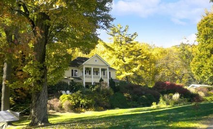 Option 1: Carriage House, St. Paul de Vence, Benitatxell, Savannah, Kinsale, or E'staing Suite, Valid SundayThursday  - The Yellow House Bed & Breakfast in Waynesville