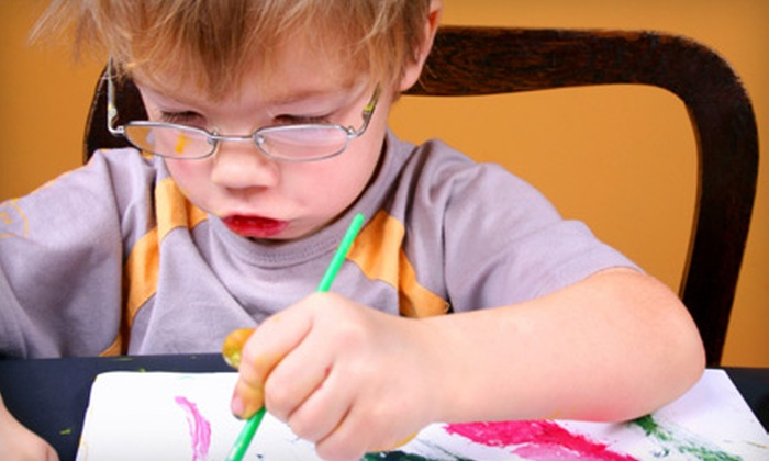 Noah's Art - Multiple Locations: $30 for Four Weeks of Kids' Art Classes at Noah's Art (Up to $82.84 Value)