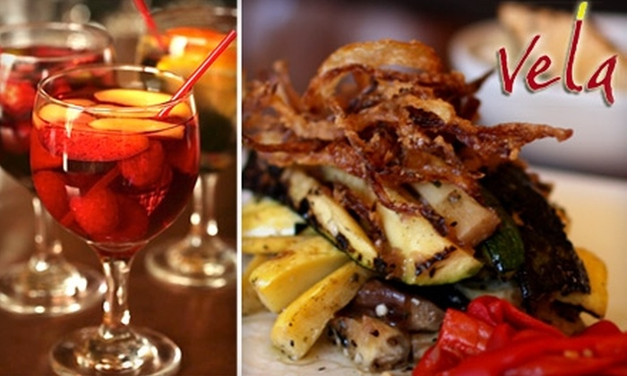 Vela Tapas - Bay Ridge & Fort Hamilton: $15 for $30 Worth of Tapas and Drinks at Vela Tapas in Bay Ridge