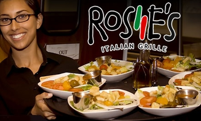 Rosie's Italian Grille - Springfield: $20 for $40 Worth of Italian Cuisine and Drinks at Rosie's Italian Grille
