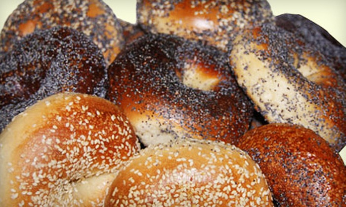 Bagel World - The Beaches: $10 for $20 Worth of Bagels, Pastries, and Drinks at Bagel World
