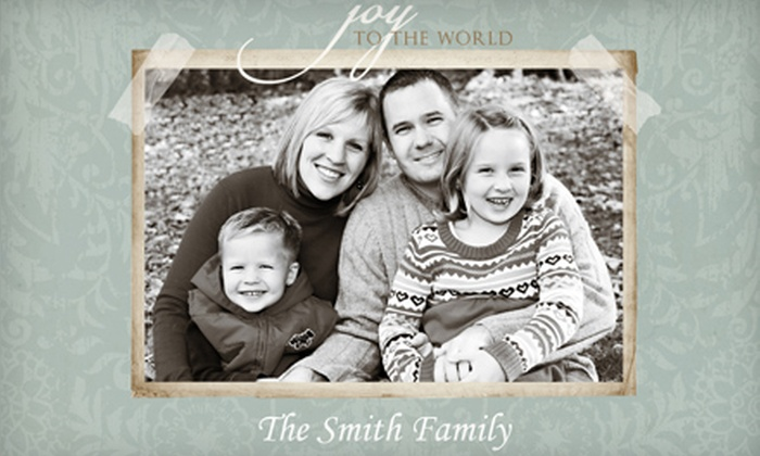Photography by Danielle - Milwaukee: Holiday Portrait Package with 25 Printed Holiday Cards or Winter Photo Session with Printss at Photography by Danielle ($161.50 Value)