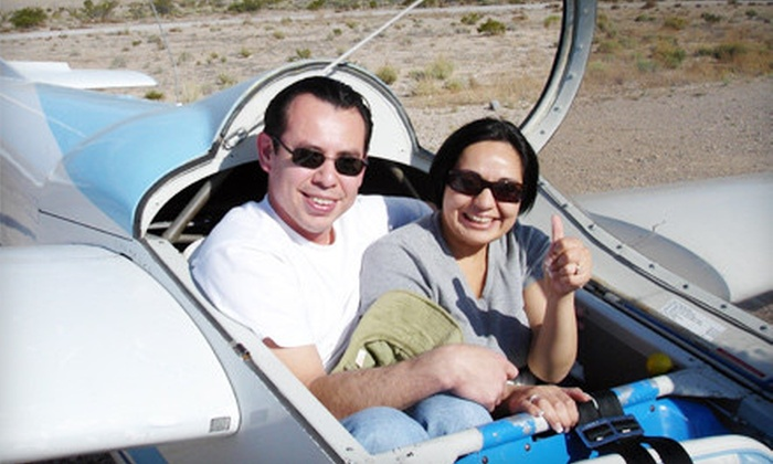Las Vegas Glider Rides - Clark: $169 for a Glider Ride for Two, Plus, Video from Las Vegas Glider Rides in Jean ($348 Value)