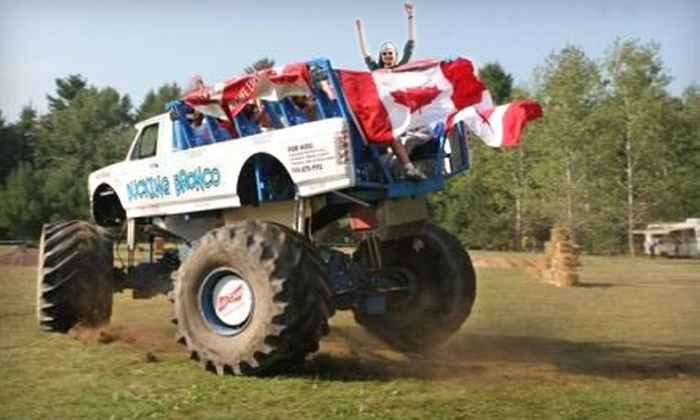 Bucking Bronco - Omemee: $37 for a Monster-Truck Thrill Ride at Bucking Bronco in Omemee ($75 Value)