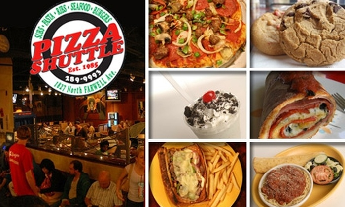 Pizza Shuttle - Lower East Side: $10 Worth of Pizzas, Drinks, and More at Pizza Shuttle
