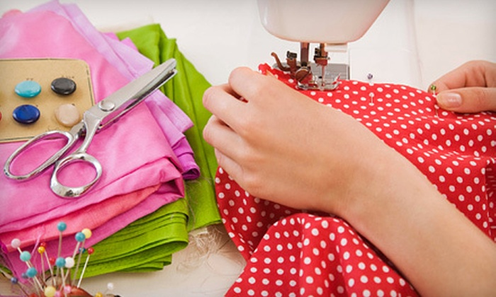 Hart's Fabric - Eastside: Sewing Class for One or Two at Hart's Fabric (Up to 55% Off)