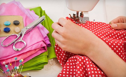 Admission to 1 Sewing Class for One (up to a $30 value) - Hart's Fabric in Santa Cruz