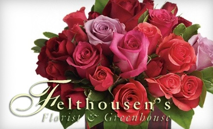 $30 Groupon to Felthousen's Florist & Greenhouse - Felthousen's Florist & Greenhouse in Schenectady