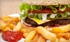 Lamp Post Bar and Grill - Historic Downtown: $19 for Dinner and Drinks for Two at Lamp Post Bar and Grill in Jersey City (Up to $44.95 Value)