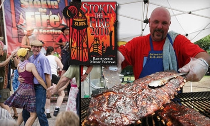 Stokin' The Fire BBQ and Music Festival - North Avondale: Up to 53% Off Adult Admission to Sloss Furnaces' Stokin' The Fire BBQ and Music Festival. Choose from Two Dates.