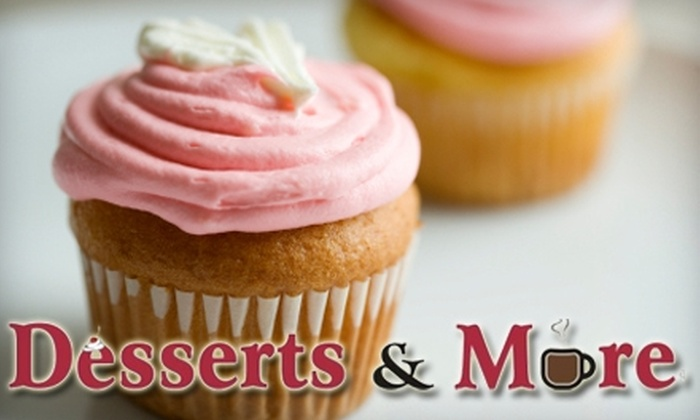 Desserts & More - Northeast Arcadia Lakes: $20 for Two Dozen Specialty Cupcakes or One Dozen Cupcakes Plus Delivery from Desserts & More