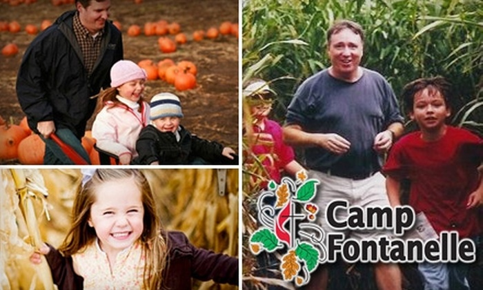 Camp Fontanelle - 6: $6 for Two Admissions to Corn Maze at Camp Fontanelle (Up to $12 Value)