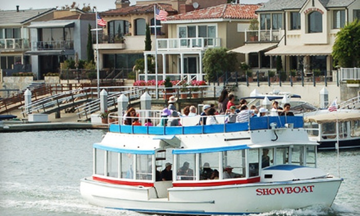 The Fun Zone Boat Company - Newport Beach: $8 for One Adult Ticket to a 90-Minute Narrated Harbor Tour from Fun Zone Boat Company ($19 Value)