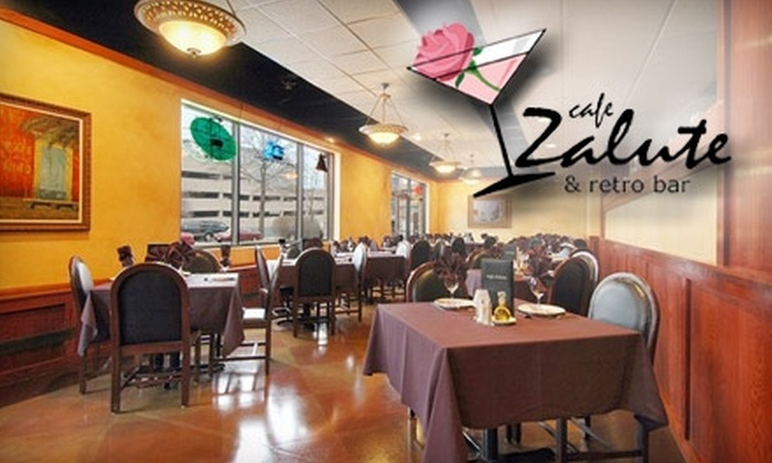 Cafe Zalute - Rosemont: $10 for $25 of Italian Fare and Drinks at Cafe Zalute & Retro Bar in Rosemont