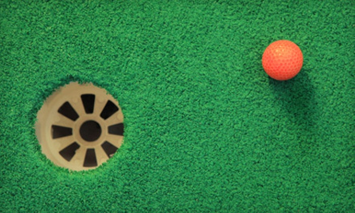 Wonderland - Country Homes: $8 for Miniature Golfing for Two at Wonderland