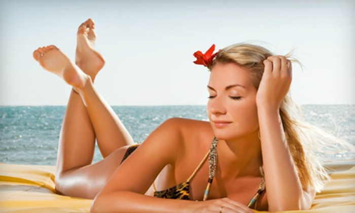SunSational Tanning - Spokane Valley: One Month of Unlimited Bed Tanning or Three Spray Tans at SunSational Tanning in Spokane Valley (Up to 74% Off)