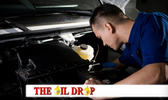 The Oil Drop - Multiple Locations: $20 for $40 Worth of Automotive Services at The Oil Drop