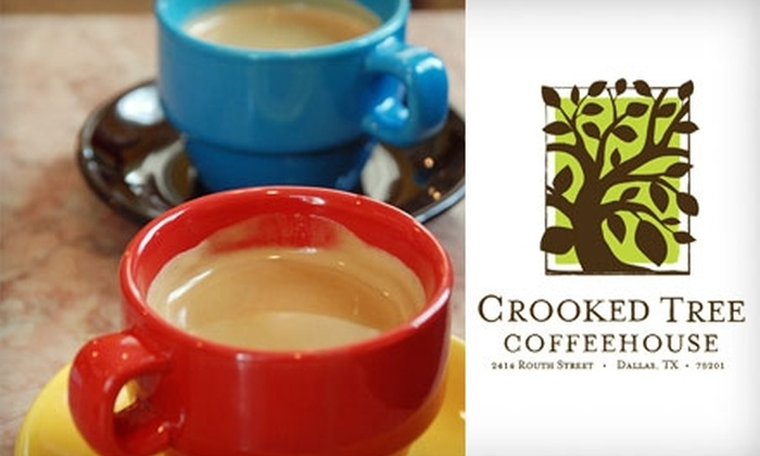 Crooked Tree Coffeehouse - Oak Lawn: $5 for $12 Worth of Coffee, Food, and Smoothies at Crooked Tree Coffeehouse