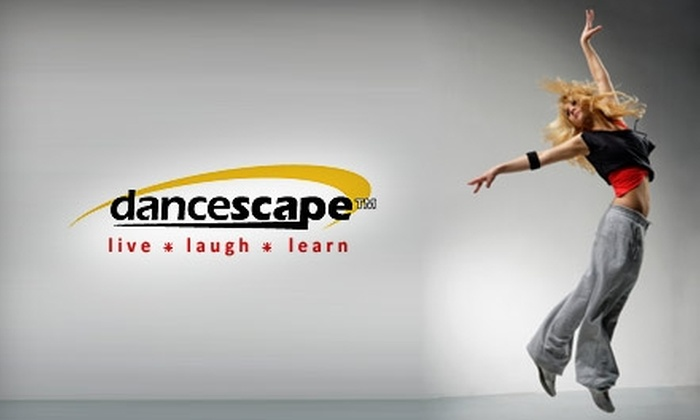 danceScape - Toronto (GTA): $29 for One Month of Women's DanceTone and Zumba Classes at danceScape ($271.20 Value)