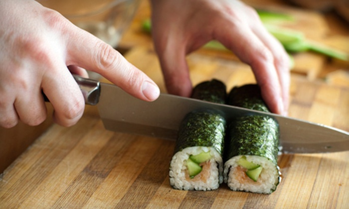 Simmer and Sear - Nob Hill: $45 for a Sushi-Making Class at Simmer and Sear ($90 Value)