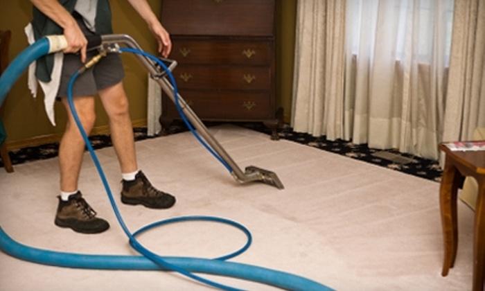Atlantic Oceans Inc. - Virginia Beach: $49 for Five-Room Carpet Cleaning from Atlantic Oceans Inc. ($99.99 Value)