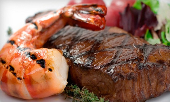 Trailhead Steakhouse - Townsend: $15 for $30 Worth of Seafood and Steak at Trailhead Steakhouse in Townsend