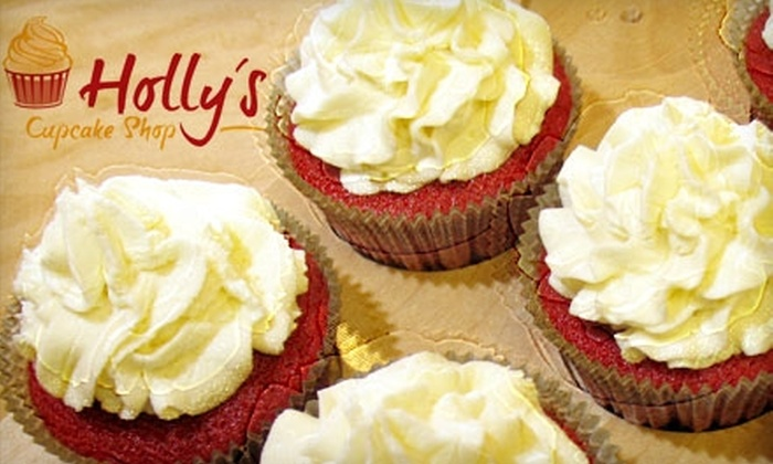 Holly's Cupcake Shop - Conyers: $6 for Six Cupcakes at Holly's Cupcake Shop ($14 Value)
