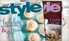 """Lehigh Valley Style: $9 for a One-Year Subscription to """"Lehigh Valley Style"""""""
