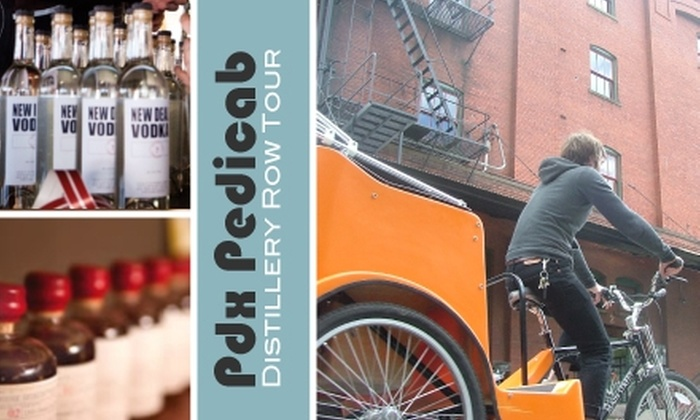Pdx Pedicab - Buckman: $20 for a 90-Minute Pedicab Distillery Tour from Pdx Pedicab ($40 Value)