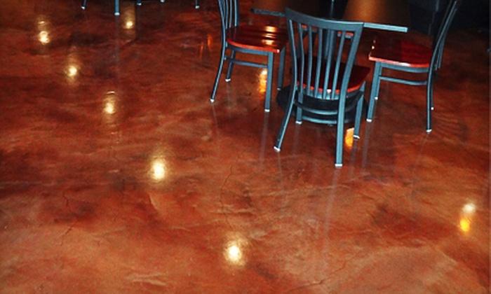 Deas Floor Decor - Normal Station Neighborhood Association: $50 for $150 Worth of Decorative Concrete Floor Surfacing from Deas Floor Decor